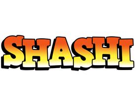 Shashi sunset logo