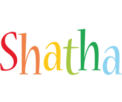 Shatha birthday logo