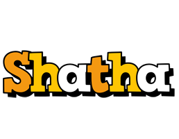 Shatha cartoon logo