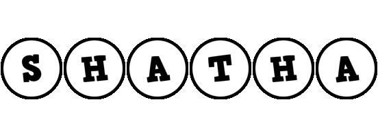 Shatha handy logo
