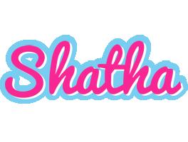 Shatha popstar logo