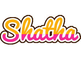 Shatha smoothie logo