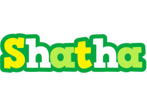 Shatha soccer logo