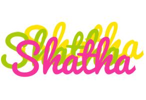 Shatha sweets logo