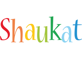 Shaukat birthday logo