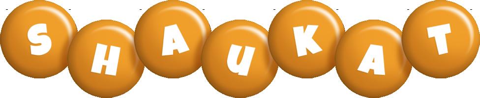 Shaukat candy-orange logo