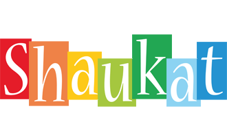 Shaukat colors logo