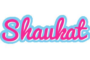Shaukat popstar logo