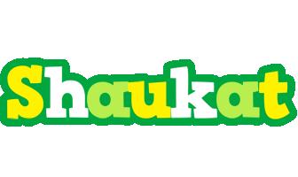 Shaukat soccer logo