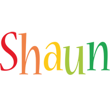 Shaun birthday logo