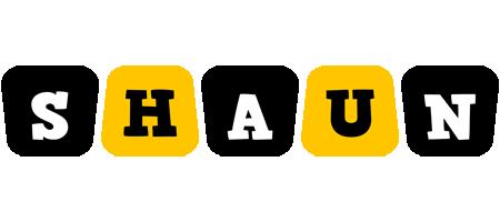 Shaun boots logo