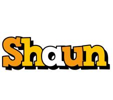 Shaun cartoon logo