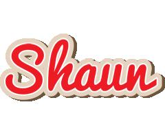 Shaun chocolate logo