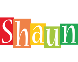 Shaun colors logo