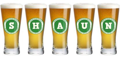 Shaun lager logo