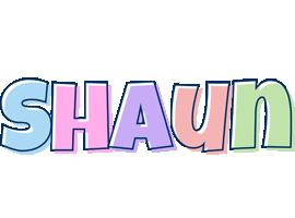 Shaun pastel logo