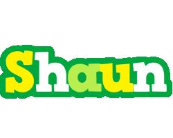 Shaun soccer logo
