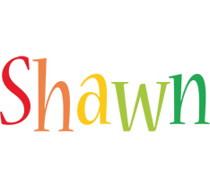 Shawn birthday logo