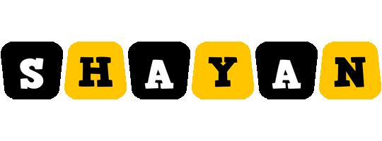Shayan boots logo