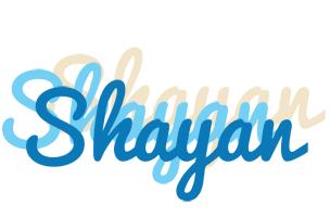 Shayan breeze logo