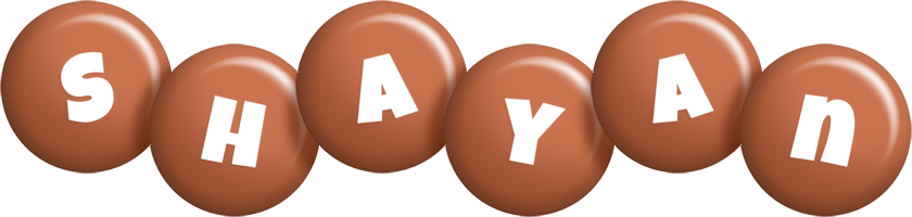 Shayan candy-brown logo