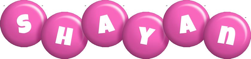 Shayan candy-pink logo