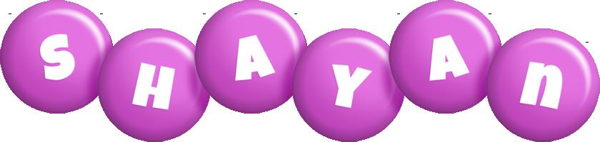 Shayan candy-purple logo