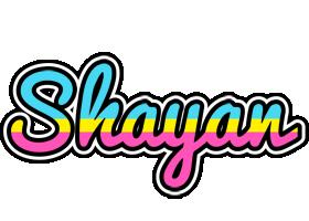 Shayan circus logo