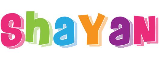 Shayan friday logo