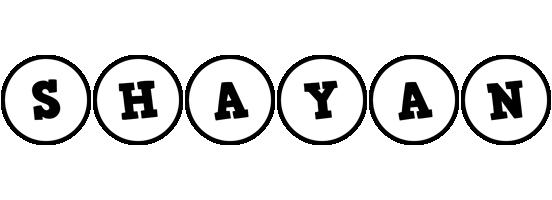 Shayan handy logo