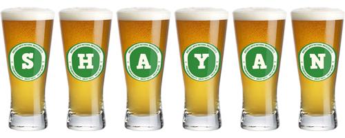 Shayan lager logo