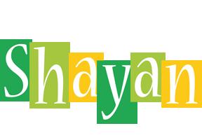 Shayan lemonade logo