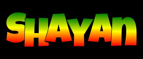 Shayan mango logo