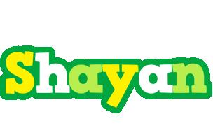 Shayan soccer logo