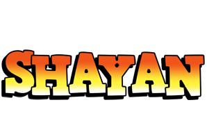 Shayan sunset logo