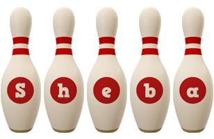 Sheba bowling-pin logo