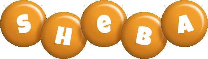 Sheba candy-orange logo