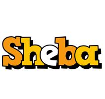 Sheba cartoon logo