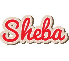 Sheba chocolate logo