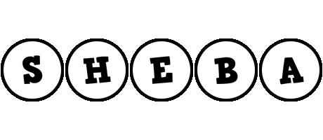 Sheba handy logo