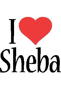 Sheba i-love logo