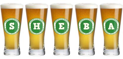 Sheba lager logo