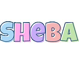 Sheba pastel logo