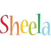 Sheela birthday logo
