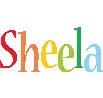 Sheela birthday logo