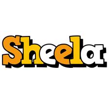 Sheela cartoon logo
