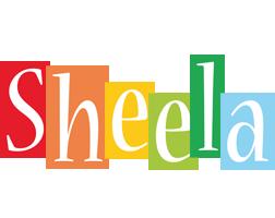 Sheela colors logo