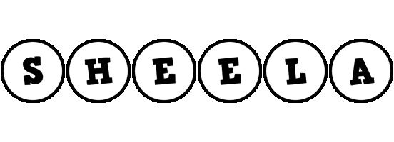Sheela handy logo