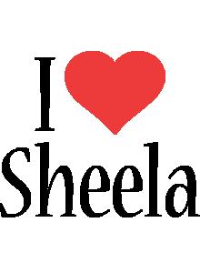 Sheela i-love logo