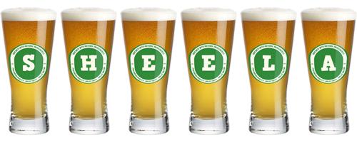 Sheela lager logo